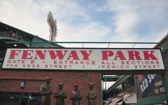 boston massachusetts fenway park