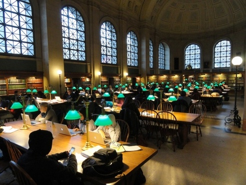 boston public library boston massachusetts