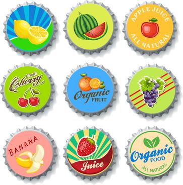 bottle cap fruit