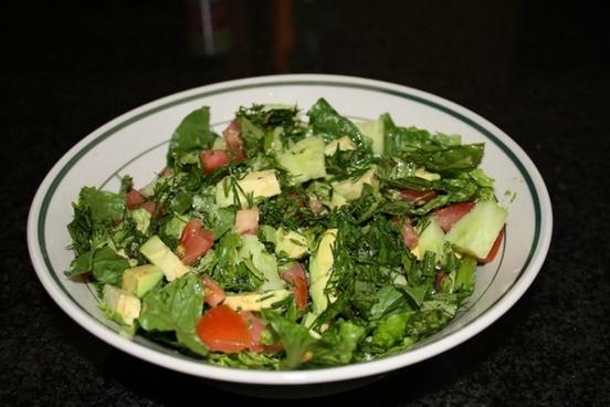bowl food salad