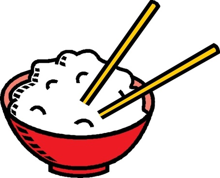 Bowl Of Rice clip art