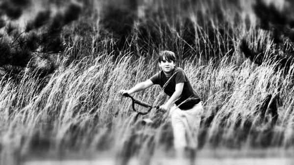 boy bike country
