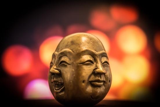 boy buddha christmas conflict doll face halloween