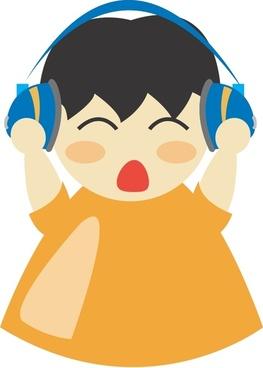 Boy with headphone2
