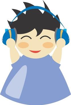 Boy with headphone5