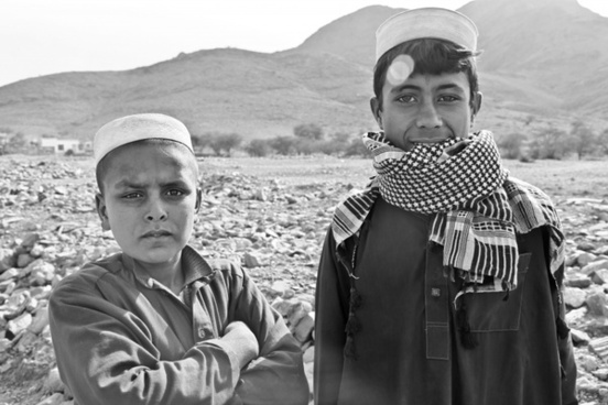 boys afghani portrait