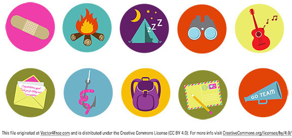 brand camp badges