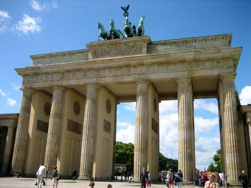 brandenburg gate berlin landmark