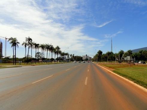 brasilia brazil road