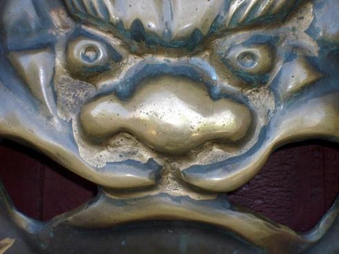 brass china door handle