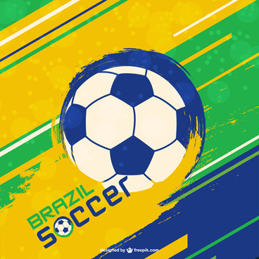 brazil soccer world cup vector background