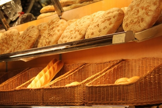 bread baked bread food