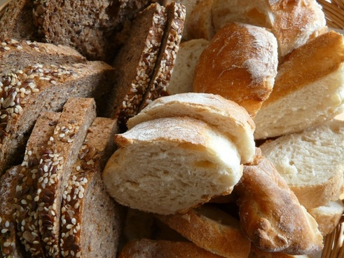 bread breakfast breadbasket