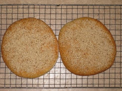 bread flat bread sesame