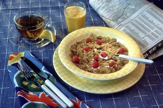 breakfast cereal milk