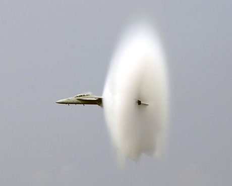 breaking the sound barrier jet fighter