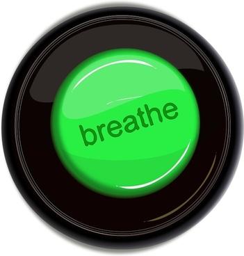 breathe icon button
