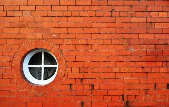 brick wall and window
