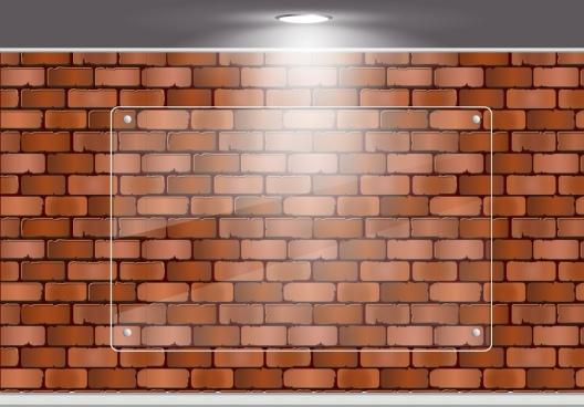 brick wall background shiny modern design