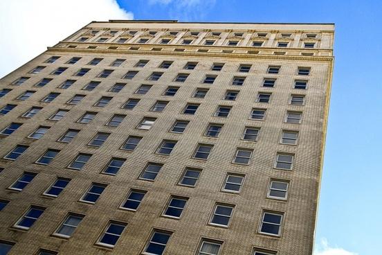 bricks building tall building