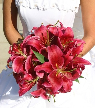 bridal bouquet picture 1