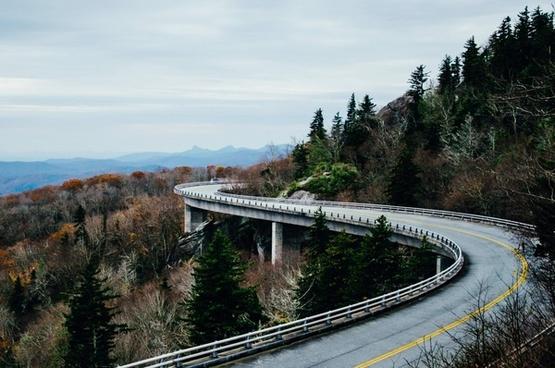 bridge holiday horizontal landscape nature nobody