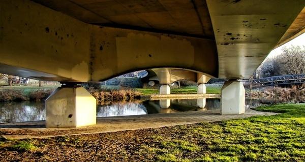 bridge river stone bridge