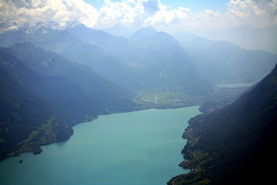 brienz lake of brienz switzerland