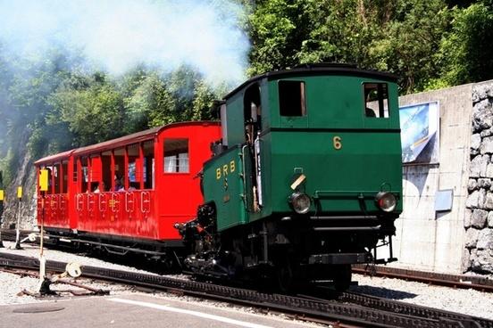 brienz rothornbahn steam locomotive mountains