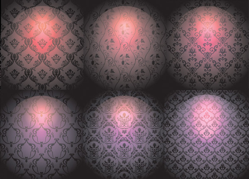 bright background decorative pattern
