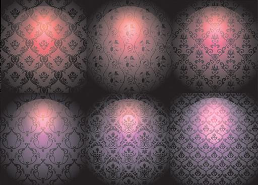 bright background decorative pattern