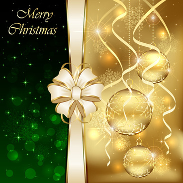 bright christmas backgrounds vector