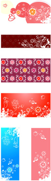 bright decorative pattern background vector