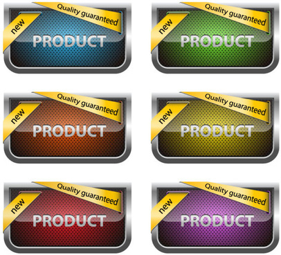 bright discount labels vector graphics