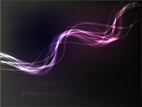 light motion background dark violet dynamic curves design
