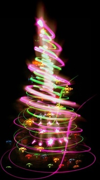 bright halo christmas tree 01 hd picture