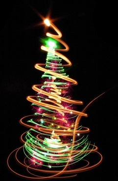 bright halo christmas tree 03 hd picture