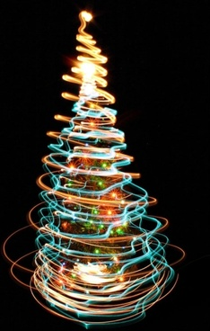 bright halo christmas tree 04 hd picture