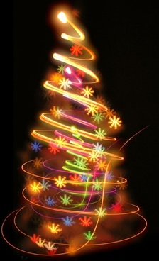 bright halo christmas tree definition picture