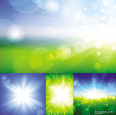 bright halo light vector