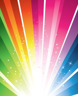 bright light vector background