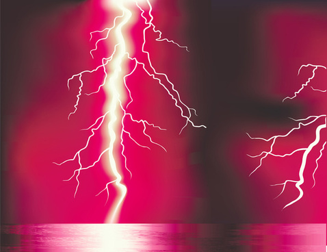 Lightning free vector download free vector for commercial