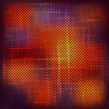 bright neon light art background vector set