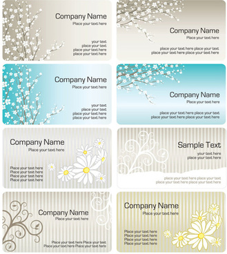 bright pattern business card templates