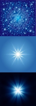 starlight backgrounds elegant sparkling vivid shining blue decor