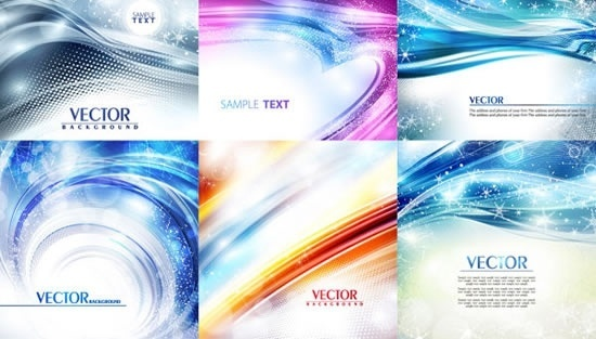 decorative backgrounds modern colorful sparkling dynamic design