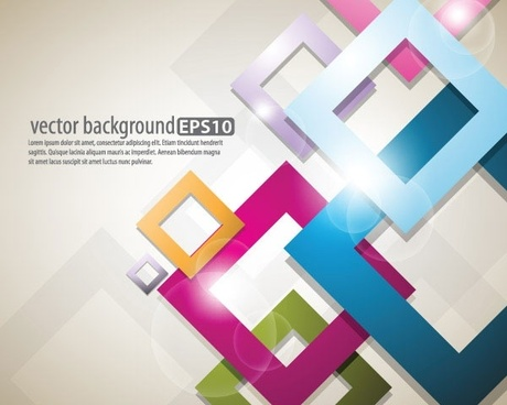 bright starstudded background 03 vector