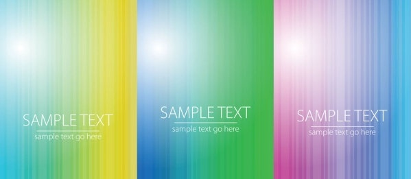 brightly colored vector background