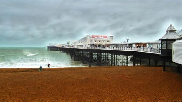 brighton pier seaside