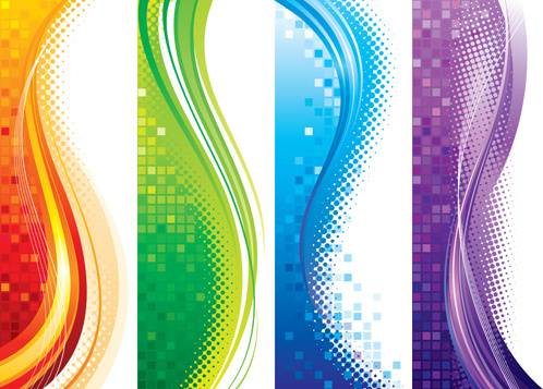 brilliant abstract backgrounds vector